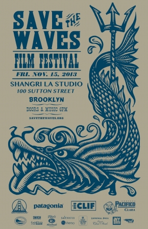 Save The Waves Film Festival – November 15, 2013