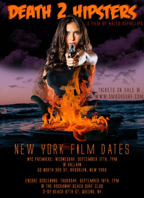 NY Premiere of Death 2 Hipsters – Sept. 17 & 18, 2014